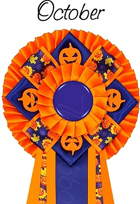 Ribbon of the month - October